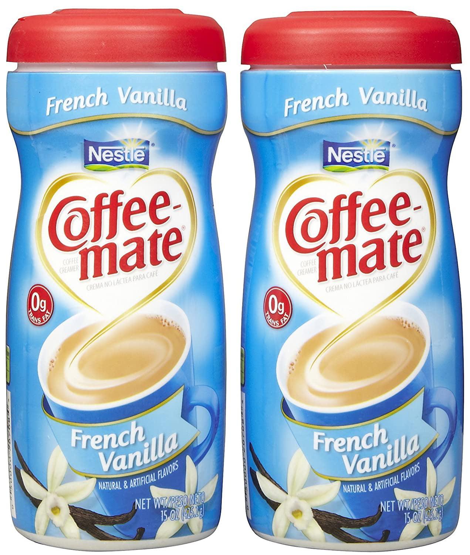 Coffee-mate Powdered Coffee Creamer - French Vanilla - 15 ...