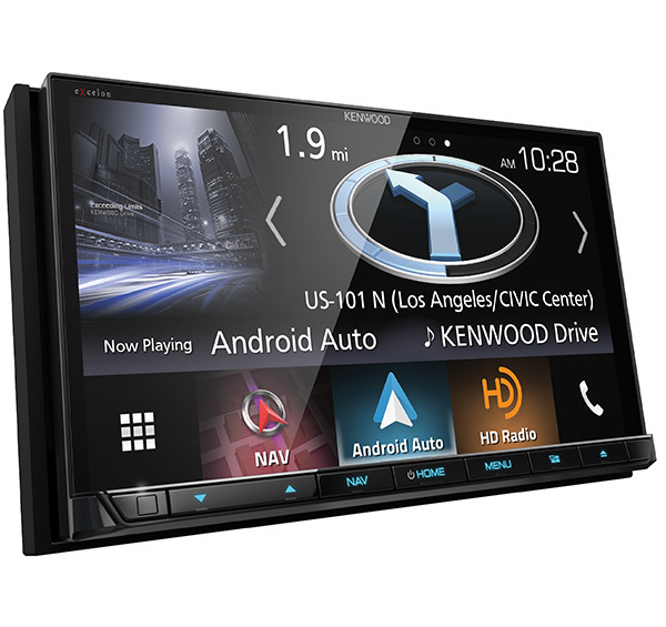 """Kenwood Excelon DNX995S 6.8"""" HD Screen Navigation/DVD Receiver with Apple CarPlay and Android Auto"""
