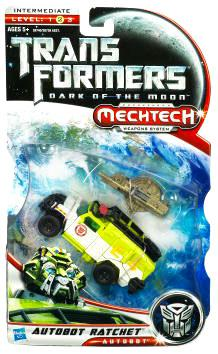 Transformers: Dark of the Moon Mechtech Deluxe Class Autobot, Ratchet by Hasbro Inc.