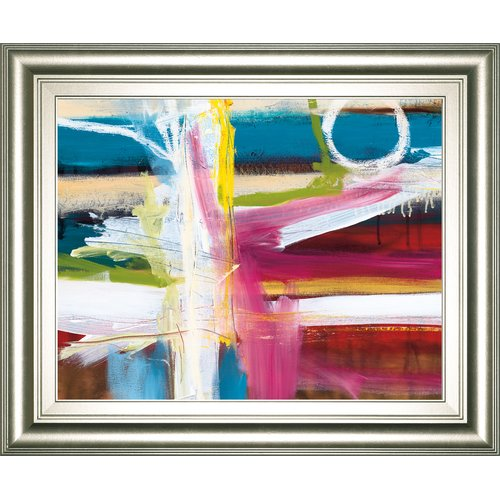 Ebern Designs 'Color Blind' Framed Print