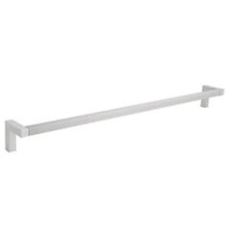 La Toscana Sq03pw Accessories Square 24 Inch Towel Bar Brushed
