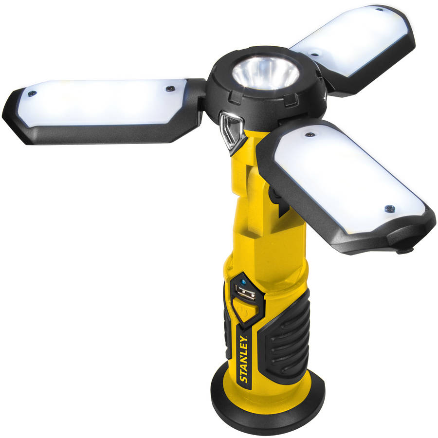 Stanley SAT3S Yellow/Black SATELLITE Rechargeable LED Work Light