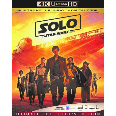 Solo: A Star Wars Story (Ultimate Collector's Edition) (4K Ultra HD + Blu-ray + Digital Code)