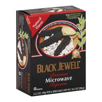 Black Jewell Microwave Popcorn - Natural - Pack of 6 - 10.5 Oz.