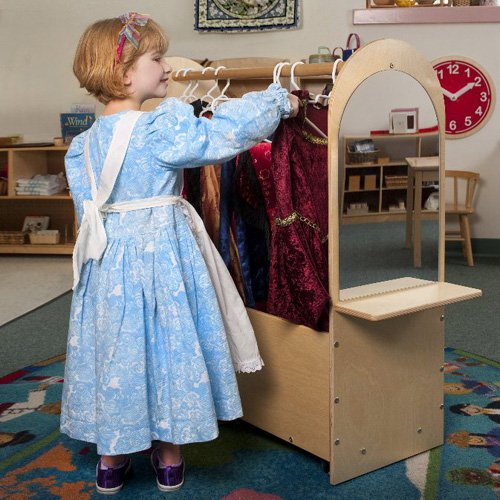 Whitney Brothers Portable Dress-Up Rack by Whitney Brothers Company