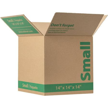 walmart brand kraft box brown 14 x 14 x 14. Black Bedroom Furniture Sets. Home Design Ideas