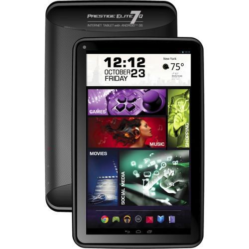 "Visual Land Prestige Elite 7Q Android 4.4 Kit Kat 7"" Tablet with Google Play"