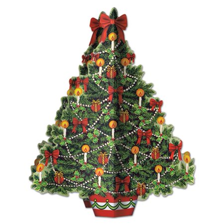 3 D Christmas Tree Centerpiece