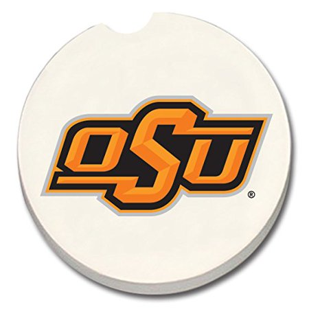 - NCAA Oklahoma State Cowboys Absorbent Stone Car Coaster - Pack Of 2