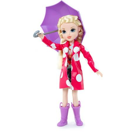 Moxie Girlz Raincoat Color Splash Avery Doll