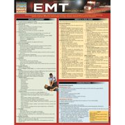 BarCharts 9781423218630 Emt- Emergency Medical Technician Quickstudy Easel