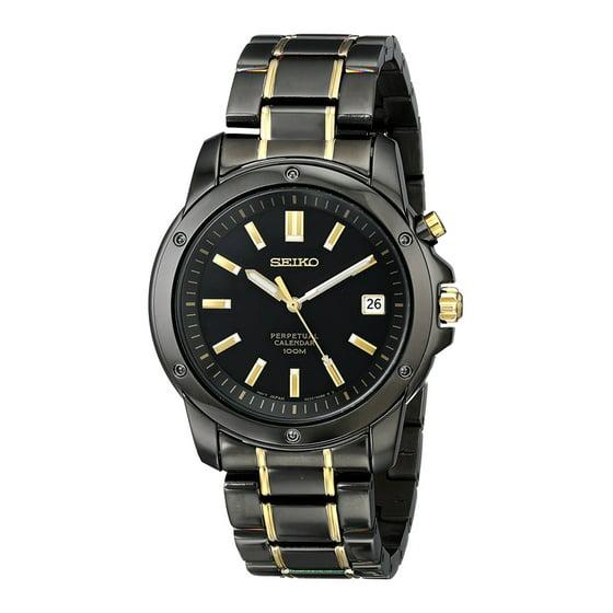 Seiko Perpetual Calendar.Men S Titanium Watch Perpetual Calendar