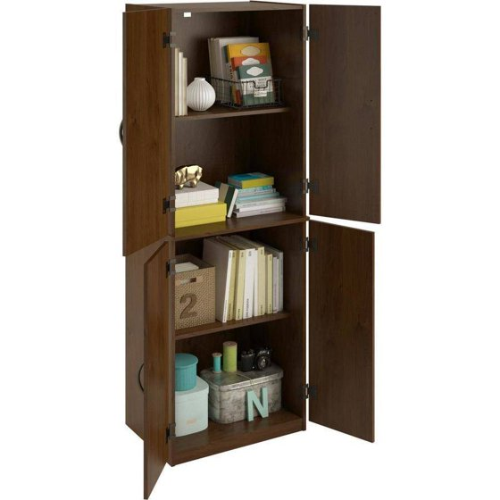 d1ad24571933 Mainstays Storage Cabinet, Multiple Finishes - Walmart.com