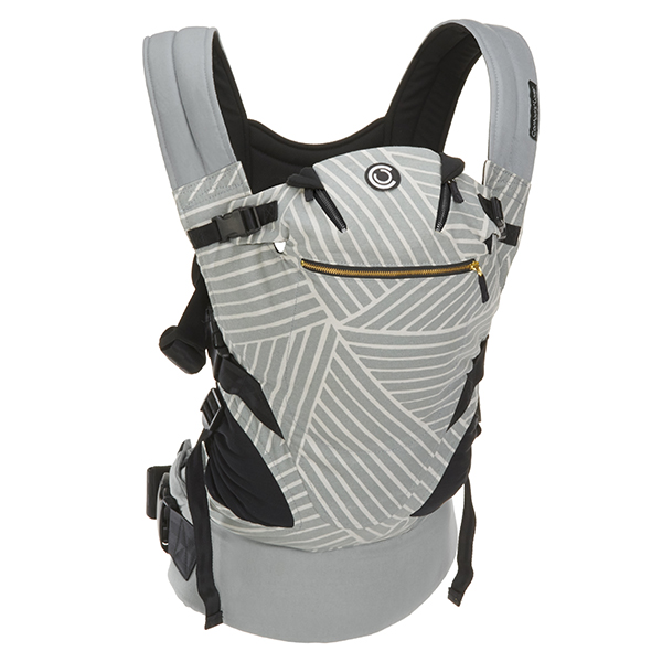 Contours Love 3-in-1 Baby & Child Carrier with 3 Seating Positions, Starburst Grey