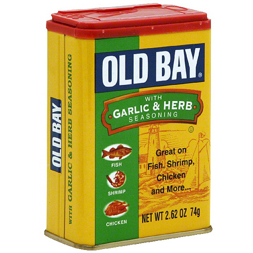 Old Bay Garlic & Herb Seasoning, 2.62 oz (Pack of 12)