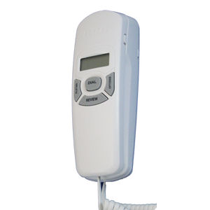 RCA 1104-1wtga Slim-Line Phone with Caller ID, White