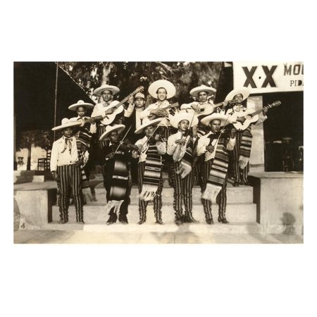 Mariachi Band, Mexico Print Wall Art