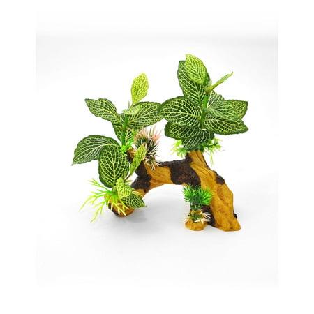 """Biobubble Decorative Tiger Root Green 7"""" X 4"""" X 10"""" - image 1 de 1"""
