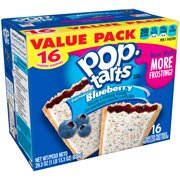 Pop-Tarts Frosted Blueberry, 16 Toaster Pastries