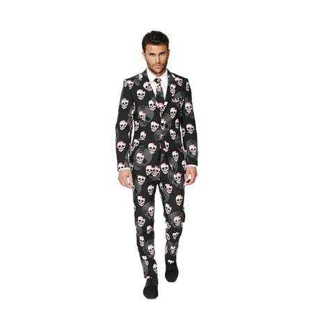 Oppo Suits Halloween (OppoSuits Men's Skulleton Halloween)