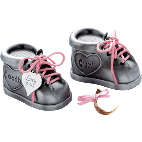 Personalized Pewter Baby Shoes Set Walmart