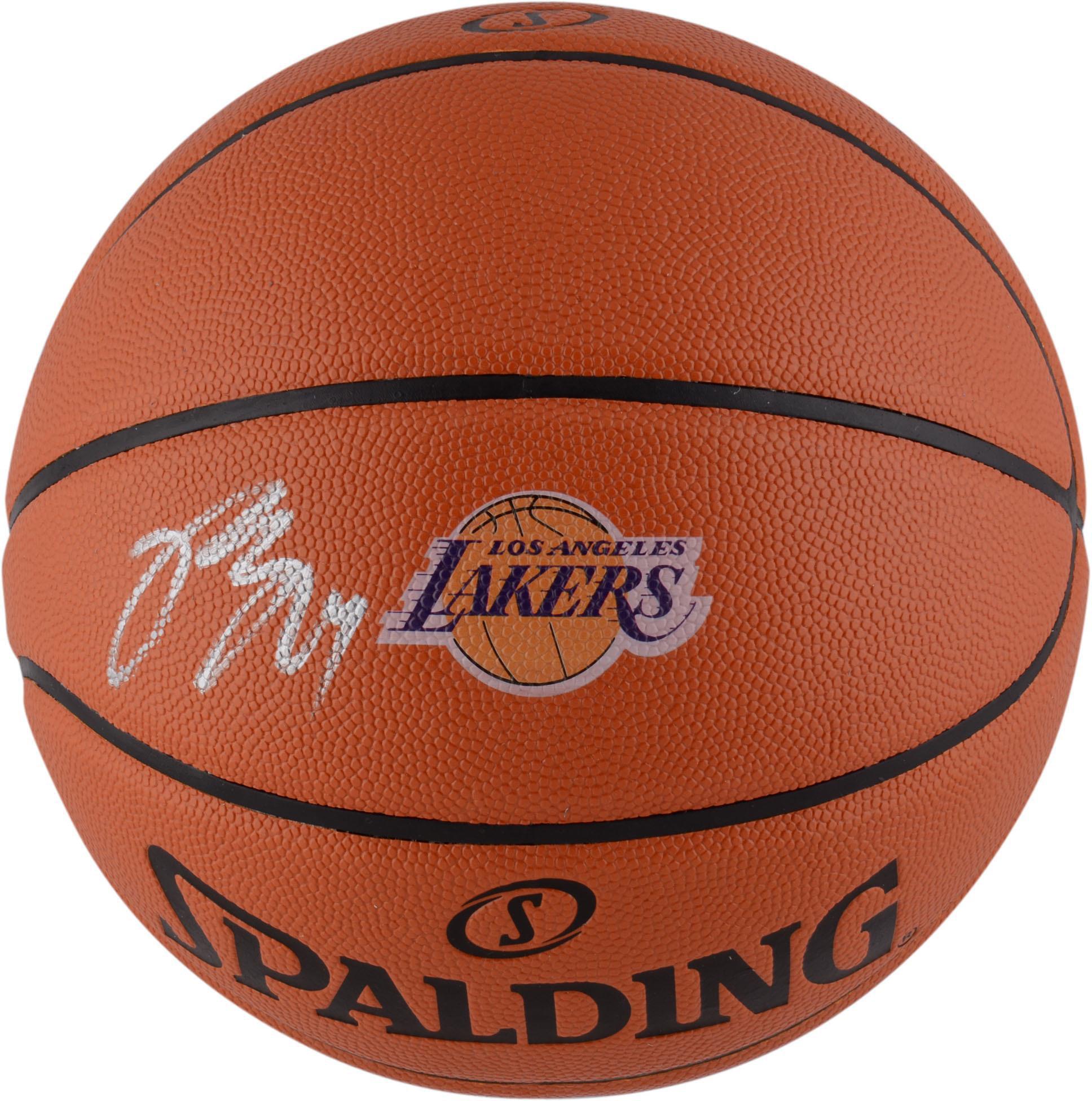 Brandon Ingram Los Angeles Lakers Autographed Spalding Logo Basketball - Fanatics Authentic Certified
