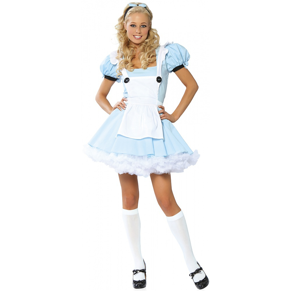 Alice in Wonderland Adult Costume - Medium/Large