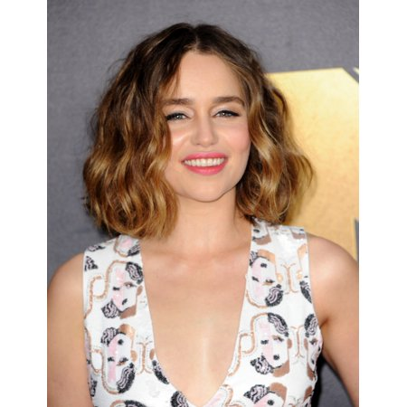 Emilia Clarke At Arrivals For Mtv Movie Awards 2016 - Arrivals 1 Warner Bros Studios Burbank Ca April 9 2016 Photo By Elizabeth GoodenoughEverett Collection Celebrity