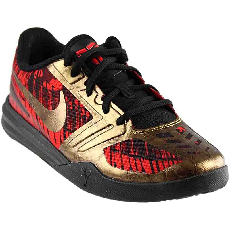 913bbc5a7b6 ... netherlands nike boys kobe mentality basketball shoes gold red 00eac  ee1fc