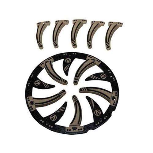 Virtue Paintball Dye Rotor Crown 2 - Tan