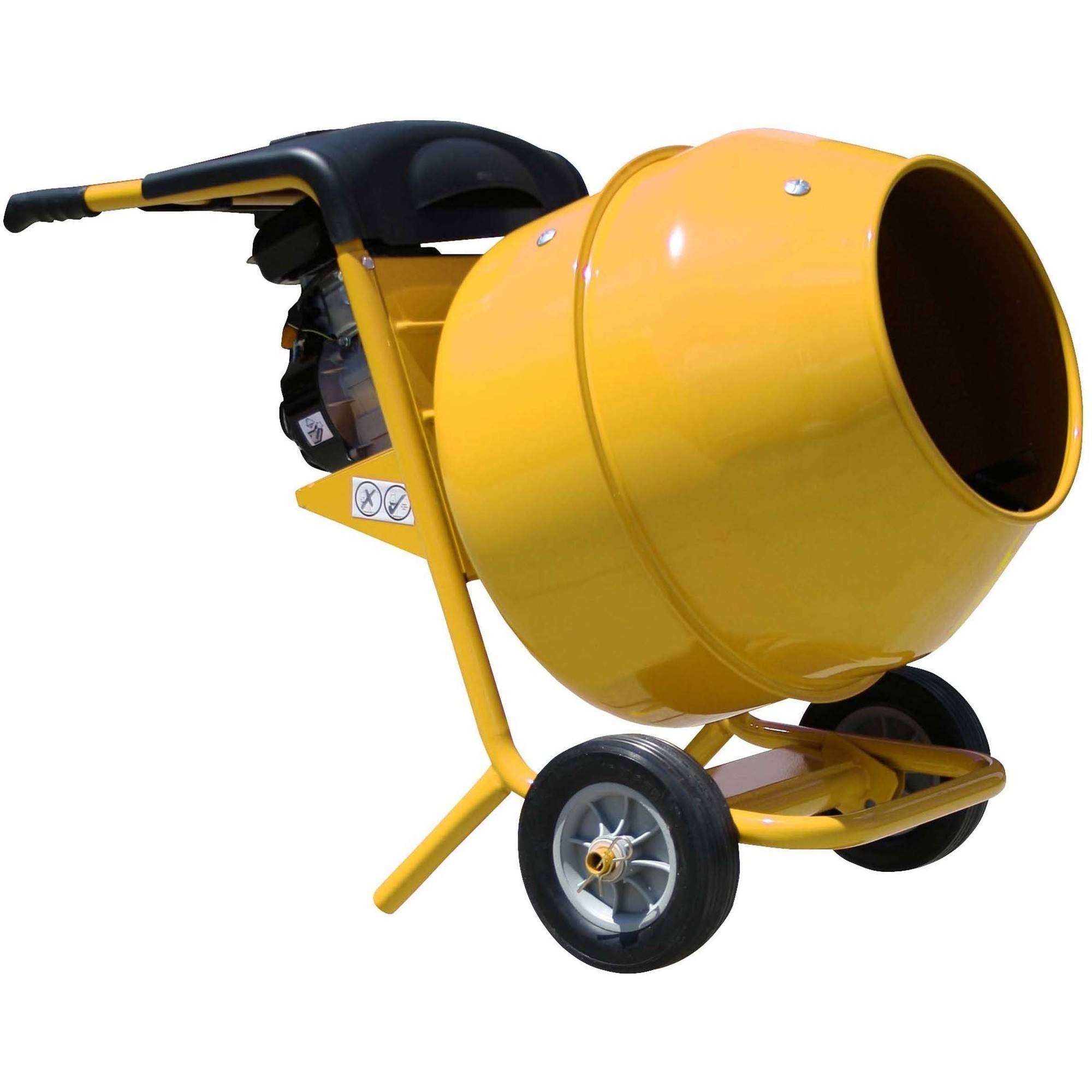 Pro-Series 5 Cubic Foot   2.5 HP Gasoline Cement Mixer by New Buffalo Corp.