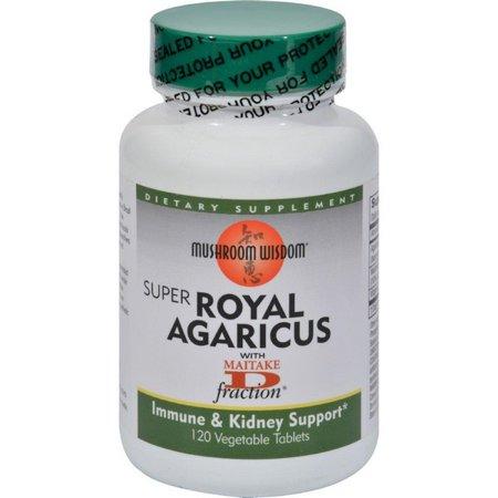 Mushroom Wisdom Royal Agaricus - 120 Caplets