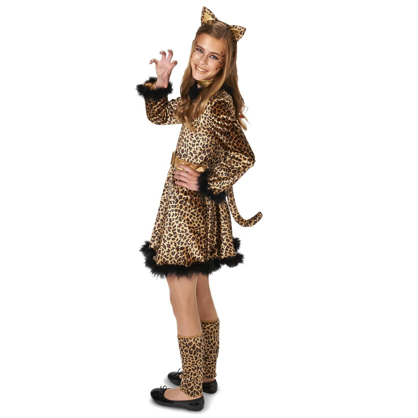Pretty Leopard Costume