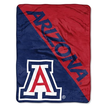 The Northwest 1COL-65901-0051-RET Arizona Wildcats Halftone Raschel Blanket - image 1 of 1