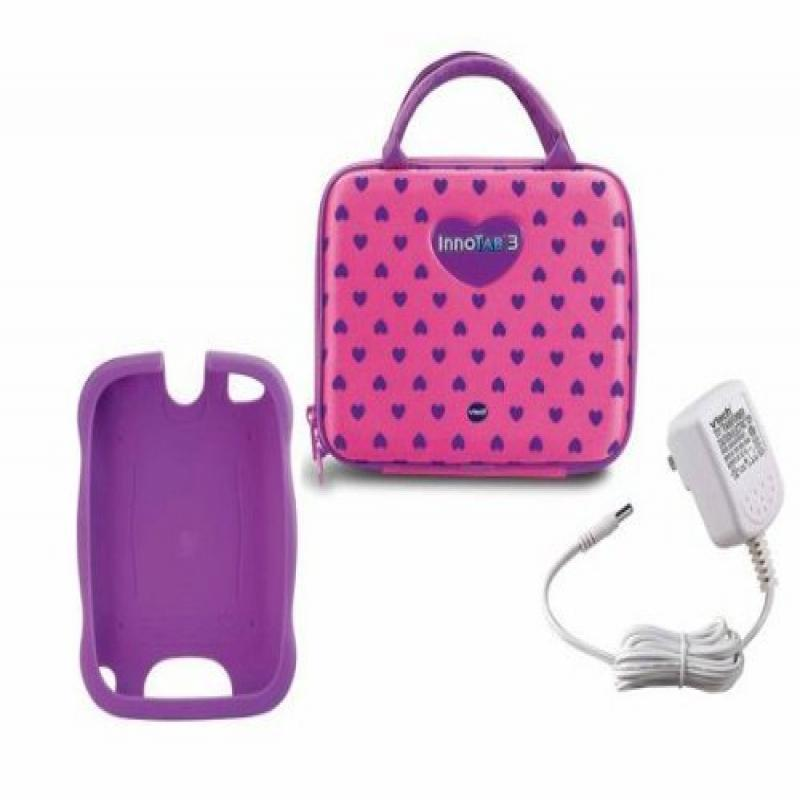 Vtech Innotab 3 Learning System Accessory Bundle Pack - Pink