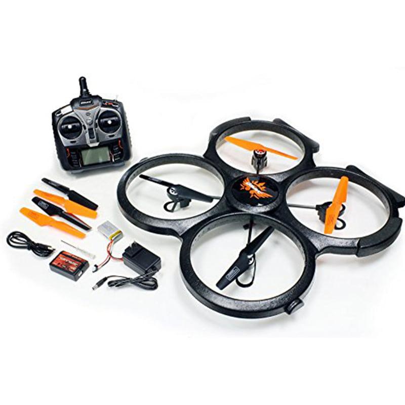 6 Axis RC Quadcopter Gyro 2.4GHz 4 CH 20.5 x 20.5 x 2.5 i...