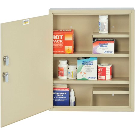 MMF, Medical Security Cabinet, 1 Each, Sand (Medical Chart Cabinet)