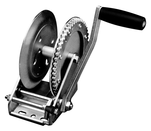 Fulton Single Speed Trailer Winch 1600lb by Cequent