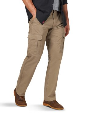 Wrangler Big Men's Relaxed Fit Stretch Cargo Pants