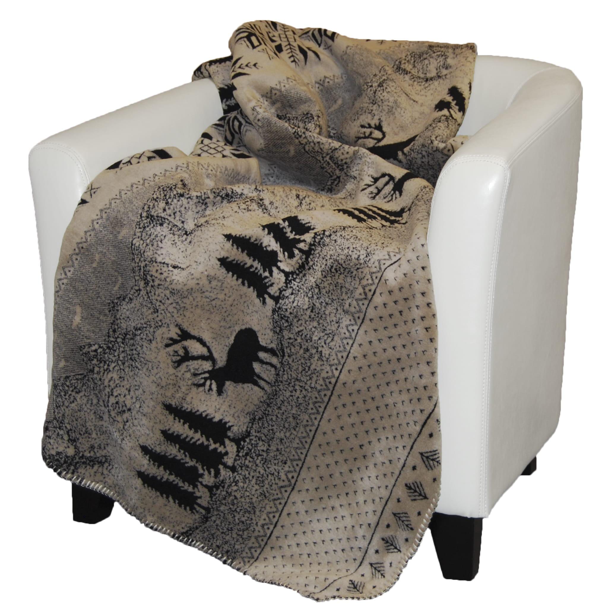 Denali Black Forest Friends Micro-plush Throw Blanket
