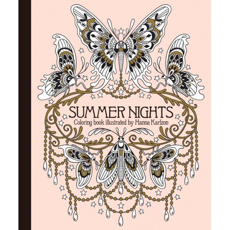 Summer Nights Coloring Book : Originally Published in Sweden as