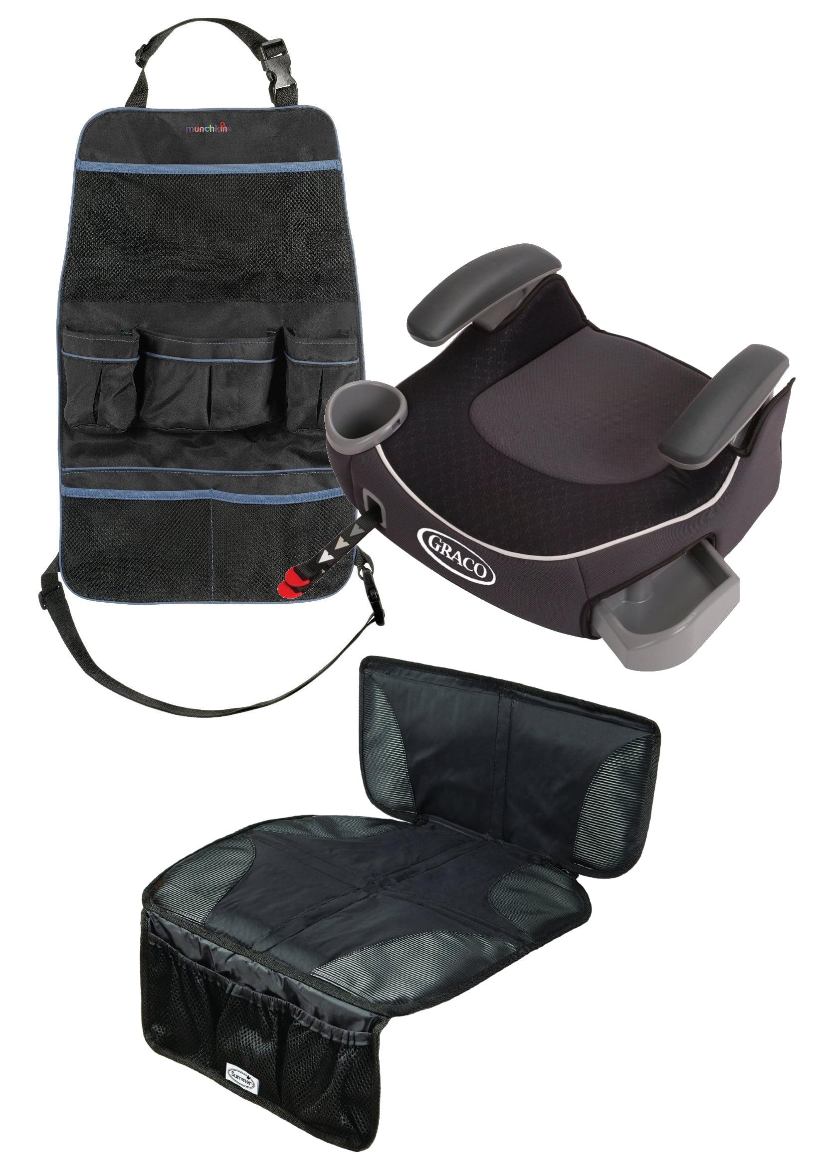 Silla De Carro Para Bebe Afijo de Graco Booster sin respaldo asiento con asiento trasero Mat organizador, Davenport + Graco en Veo y Compro