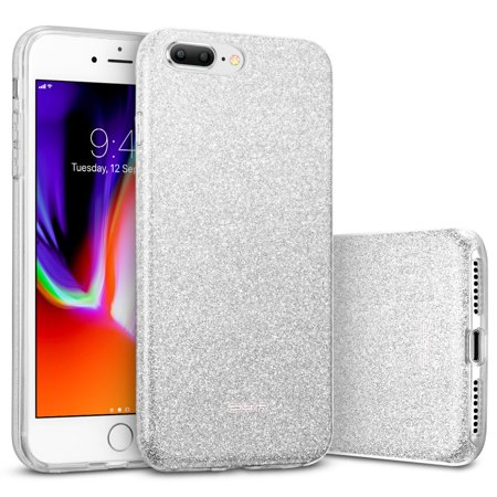 info for ba6f0 9bfc1 iPhone 8 Plus Case, iPhone 7 Plus Case, ESR Glitter Sparkle Bling Case  [Three Layer] [Supports Wireless Charging] for Apple 5.5
