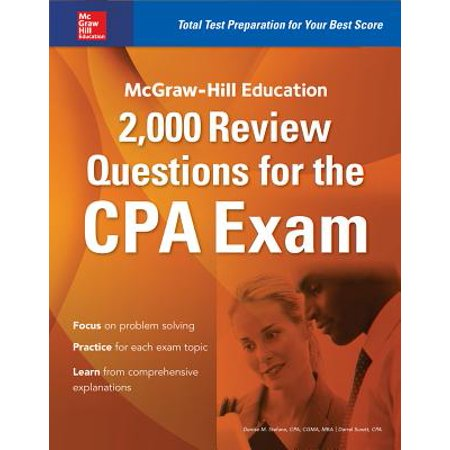 McGraw-Hill Education 2,000 Review Questions for the CPA