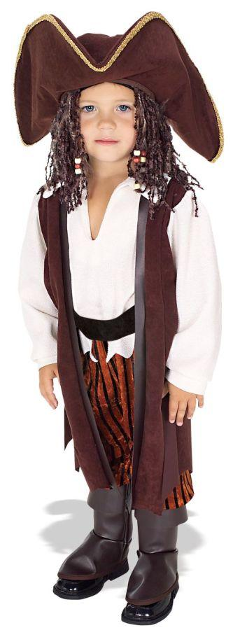 Rubies Caribbean Pirate Complete Costume, Small by Morris Costumes