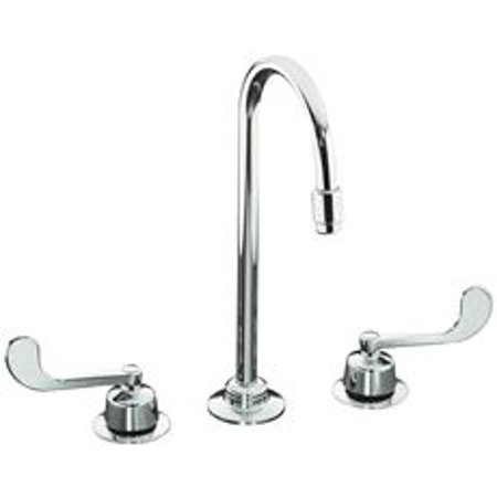 Triton Widespread Bathroom Faucet With Gooseneck Spout 8 To 16