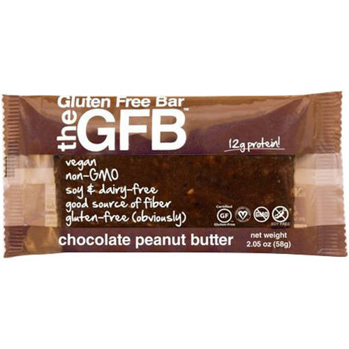 The Gluten Free Bar Chocolate Peanut Butter, 2.05 oz., (Pack of 12)