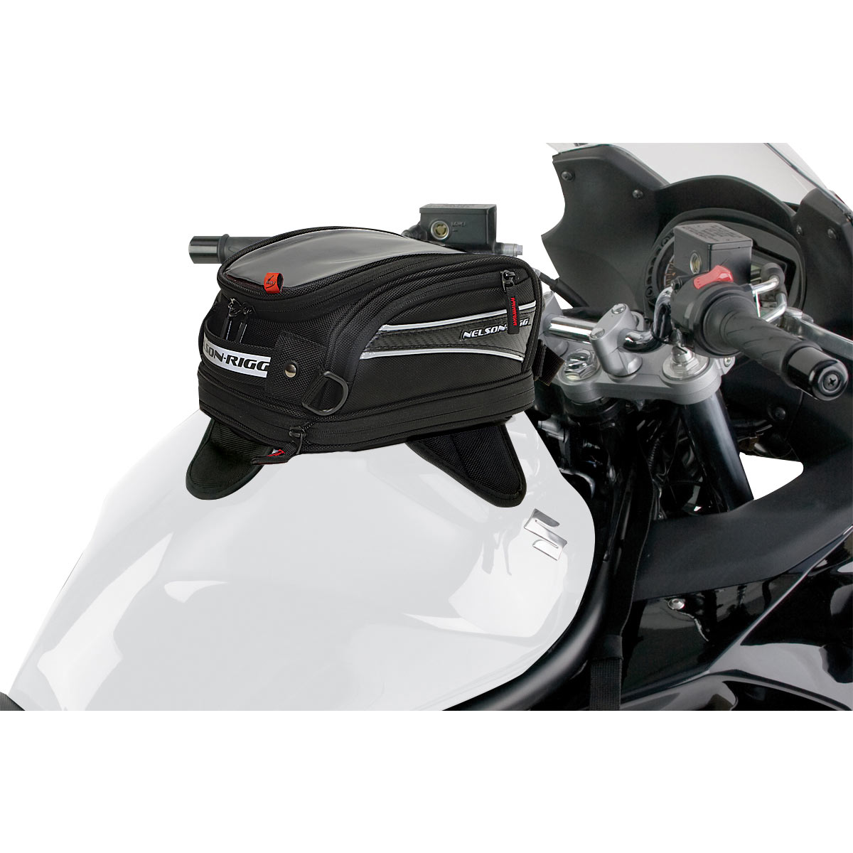 Nelson Rigg CL-2014MG Journey Mini Magnetic Mount Tank Bag
