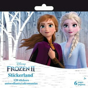 Sandylion Disney Mini Stickerland Pad-Frozen Ii, 6/Sheets