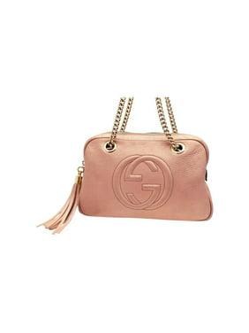 debb23da4a8af Product Image Soho (Ultra Rare) Chain Camera 227986 Pink Leather Shoulder  Bag. Gucci